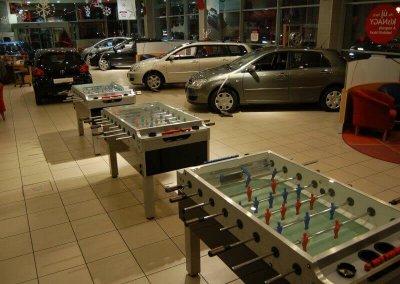 Csocsó asztalok céges évzáró rendezvényre a dolgozóknak - Toyota Super - Budapest