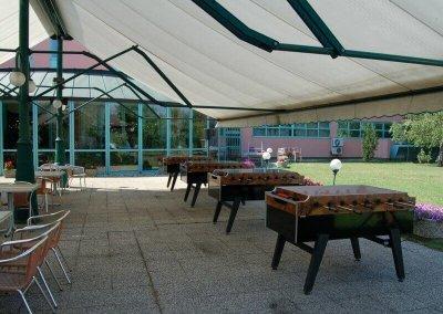 Csocsó asztalok csapatépitő tréningre - Holiday Inn - Budapest