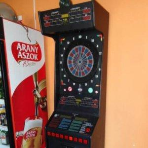 Euro Dart - 8 pályás darts gép