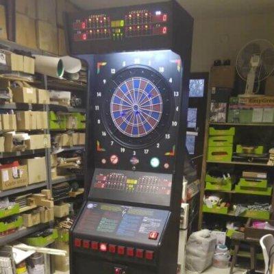 Euro dart - 8 pályás darts gép felújított eladó
