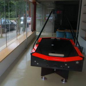Merkur Hyper Disco léghoki asztal
