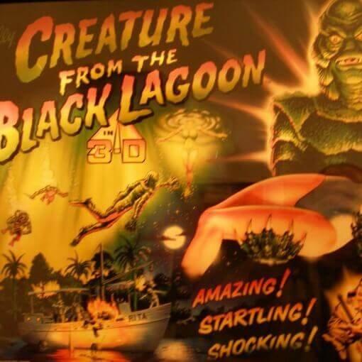 Midway - Crature The Black Lagoon flipper