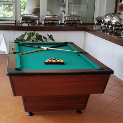 Pool klub biliárdasztal 6'