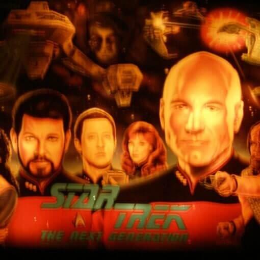 Williams - Star Trek: The Next Generation flipper