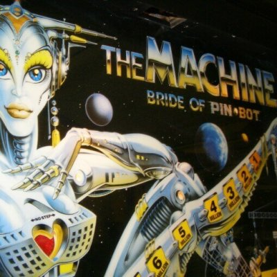 Williams - The Machine Bride Of Pinbot flipper