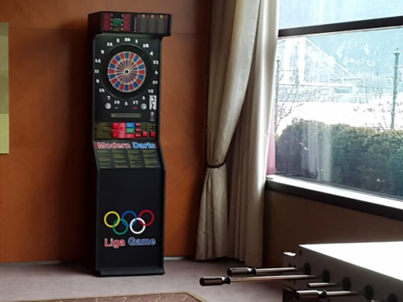 A másik a Modernova Modern darts gép