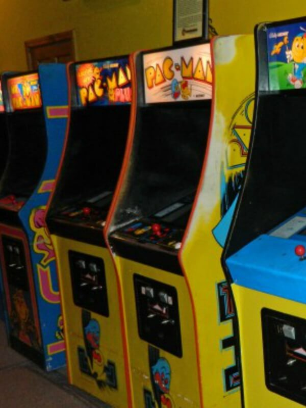 Eredeti Pac-Man videójáték kabinet