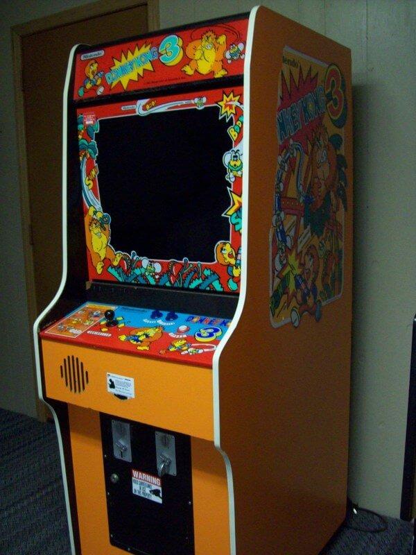 Eredeti Donkey Kong videójáték kabinet